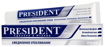 Зубная паста White PresiDent