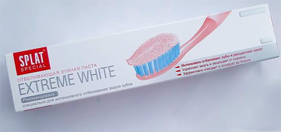 Зубная паста с пероксида карбамидом